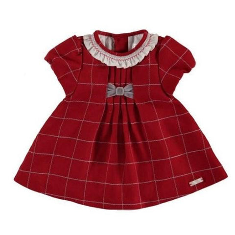 Cherry Grid Dress