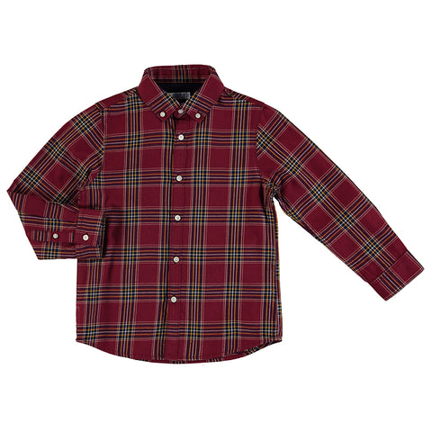 Long Sleeve Checked T shirt