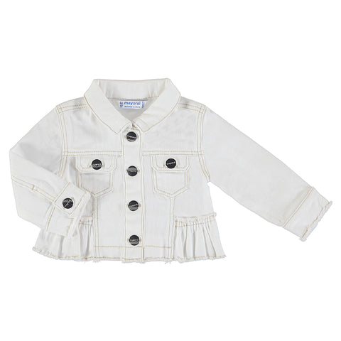 Girls Natural Twill Jacket
