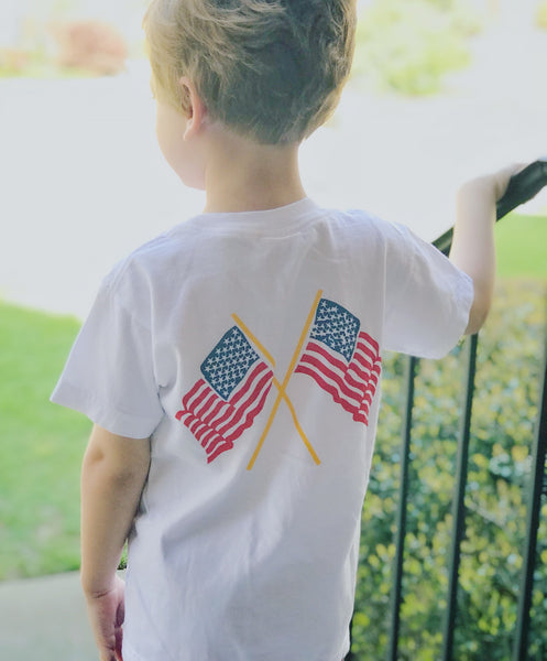 Perfectly Patriotic Flag Tee