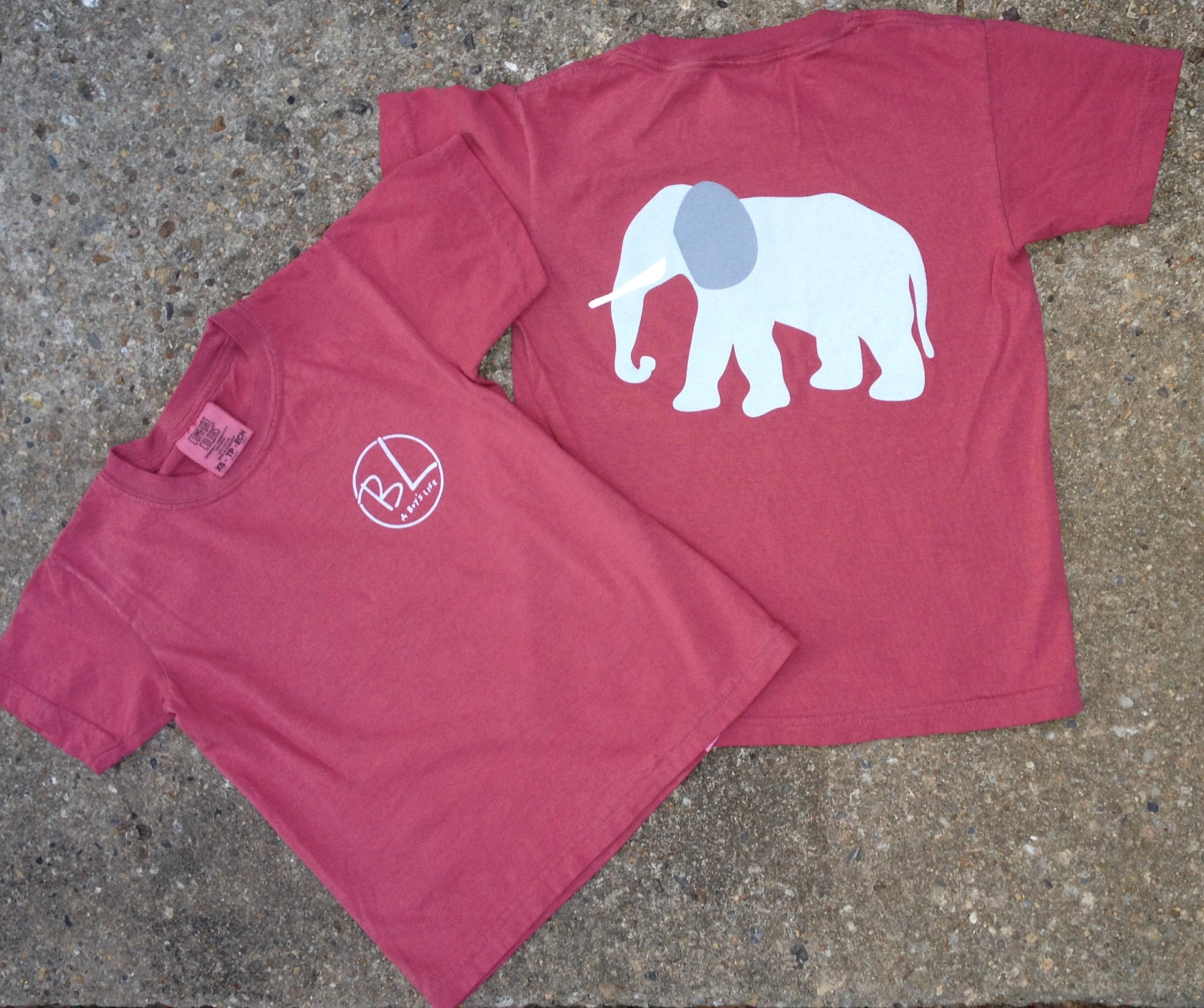 2018 Crimson Elephant Spirit Tee