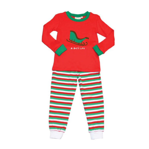 Holiday Sleigh Loungewear/Playset