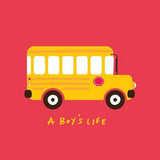 A Boy's Life - School Bus Tee