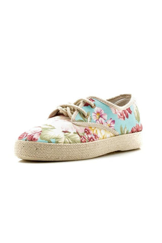 CRAZY FLORAL CANVAS KICKS IN FLORAL