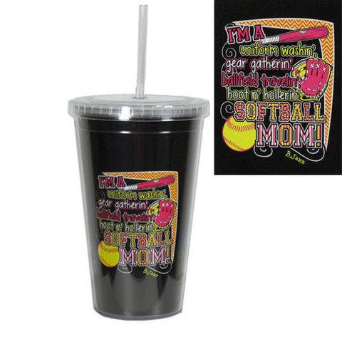 UNIFORM WASHING SOFTBALL TUMBLER