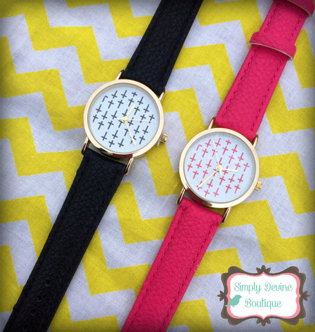 FAITHFULY YOURS CROSS WATCH