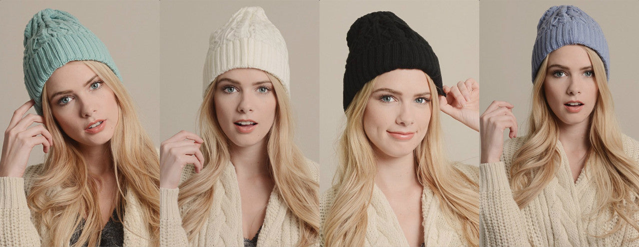 Keep your head warm this season! - Simply Devine Boutqiue