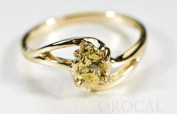 Orocal Gold Nugget Ring