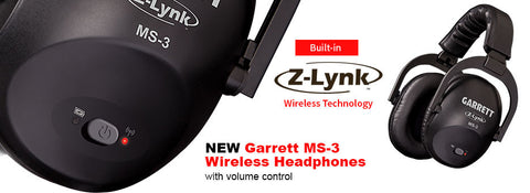 AT Max Includes MS-3 Z-Lynk Wireless Headphones.