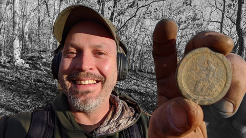 CT Relic Digger with The 'Cartwheel' Penny