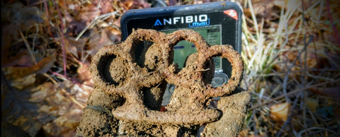 Early 1900's Iron Knuckle - Found with Anfibio Multi Metal Detector.