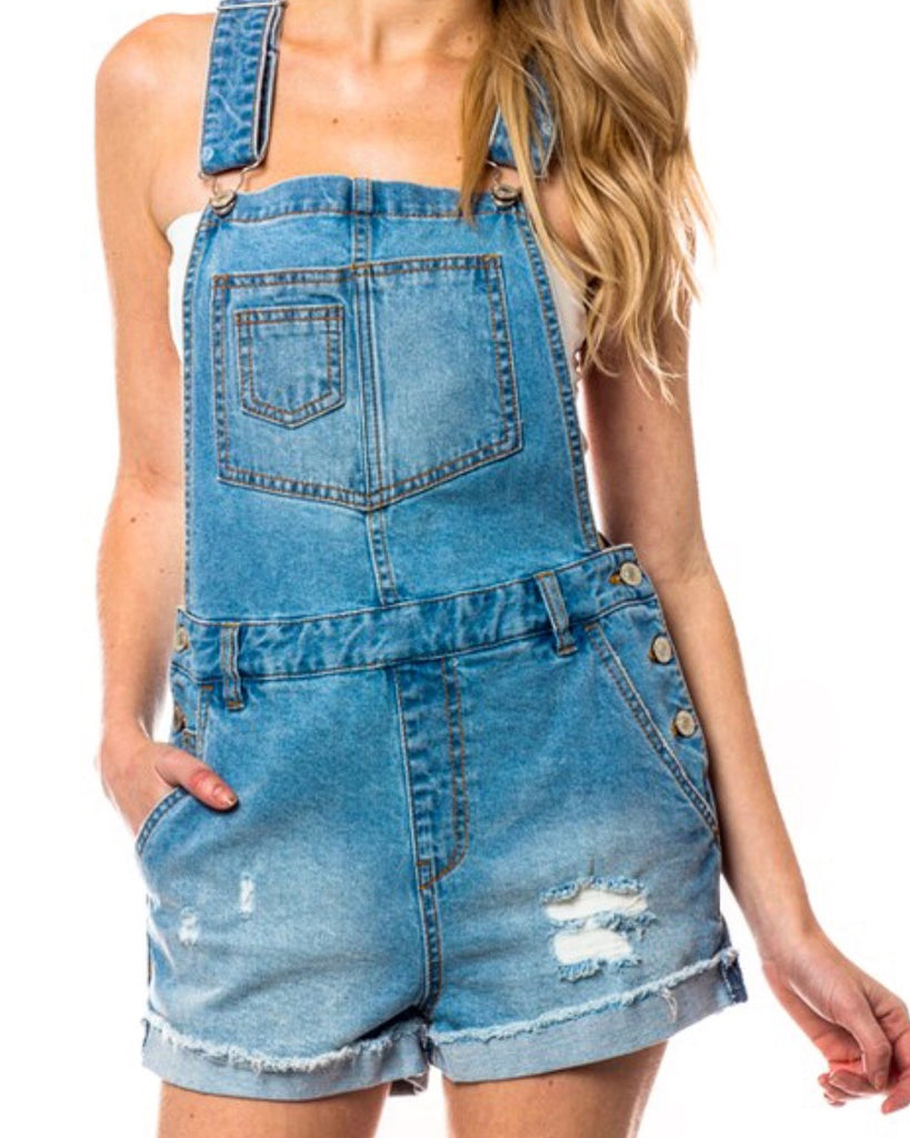 Savannah Overall - Modish Boutique