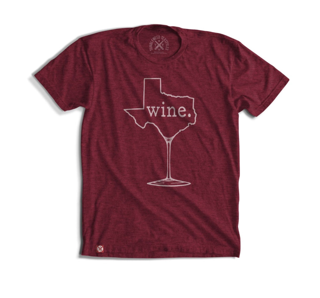 Texas Wine Tee - Modish Boutique