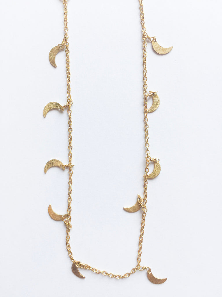 Gold Moon Choker - Modish Boutique