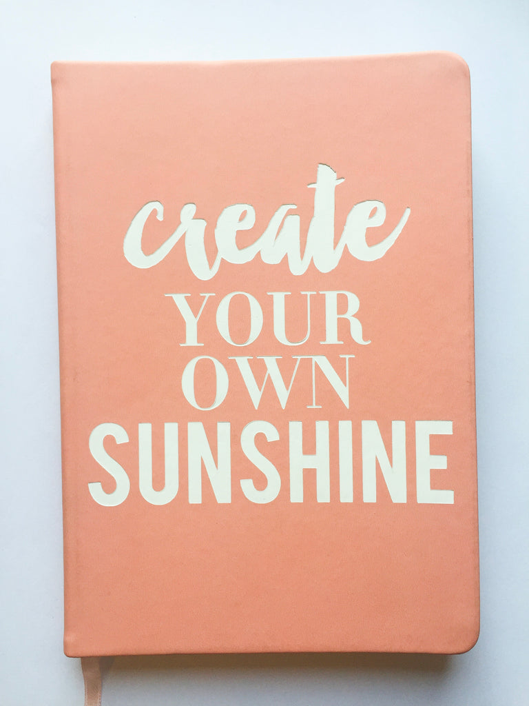 Create Your Own Sunshine Journal - Modish Boutique