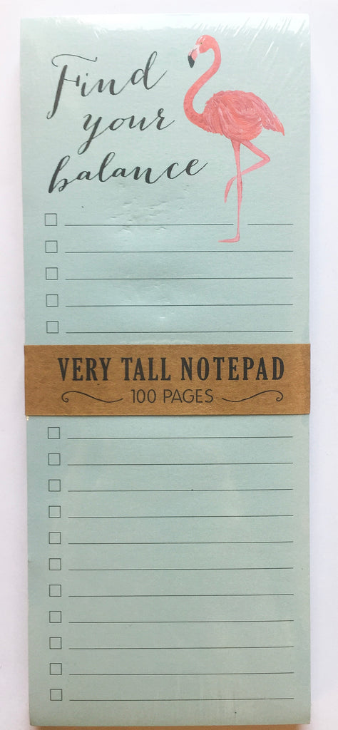 Find Your Balance Notepad - Modish Boutique
