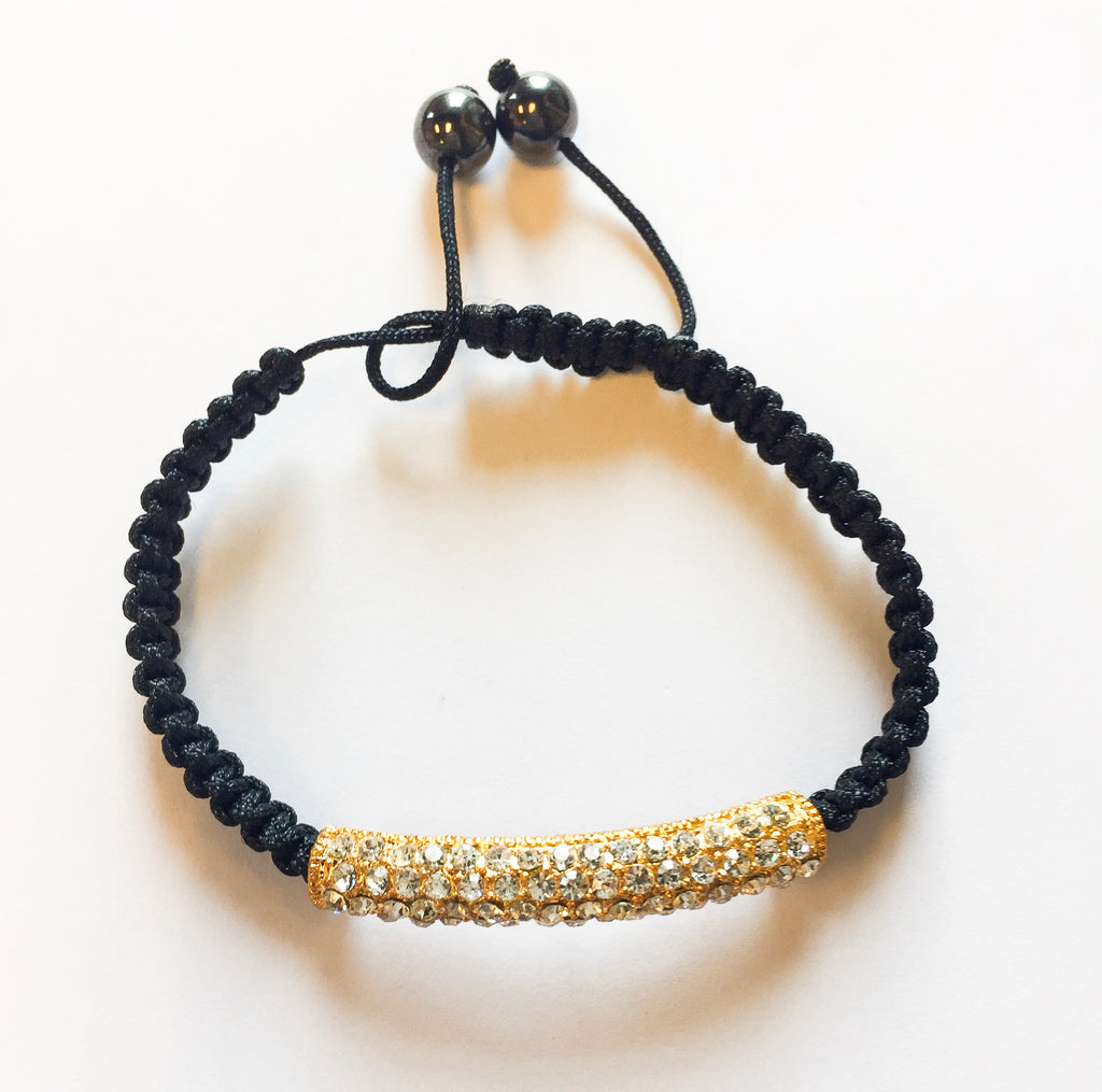 Black Sparkle Bracelet - Modish Boutique