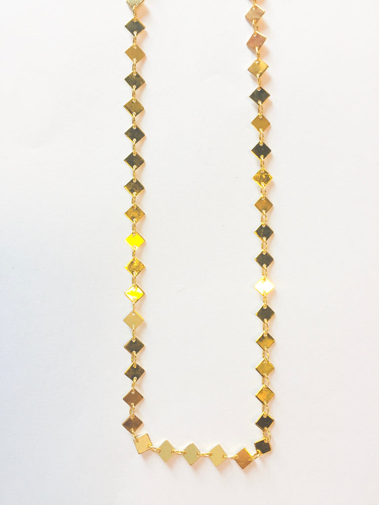 Gold Dot Chain Choker - Modish Boutique