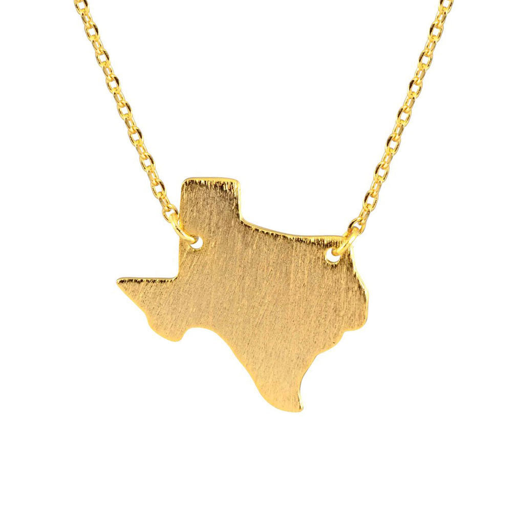Gold Texas Necklace - Modish Boutique