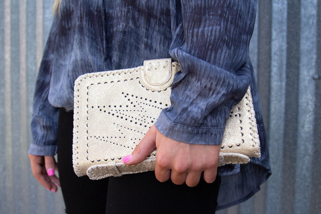 Starcrossed Clutch - Modish Boutique