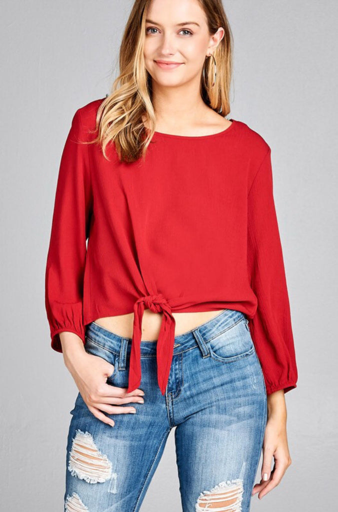 Rally Top - Modish Boutique