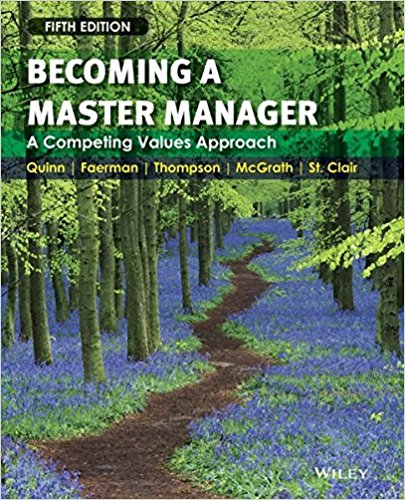BECOMING A MASTER MANAGER - QUINN