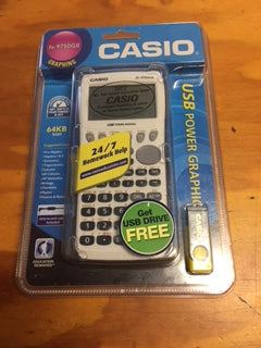 CASIO FX-9750GII CALCULATOR