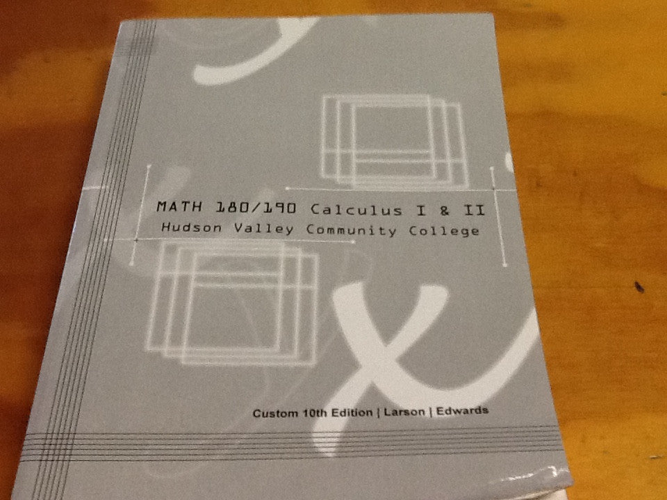CALCULUS 1 & 2 PACKAGE (HVCC CUSTOM)