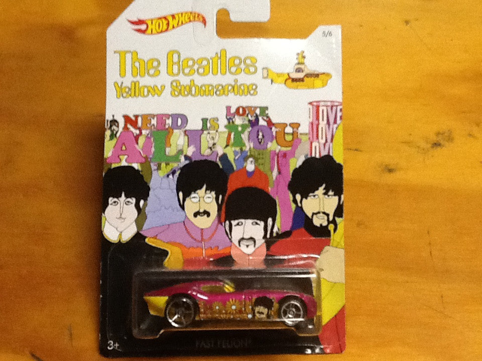 The Beatles -Yellow Subarine- HotWheels-Fast Felon