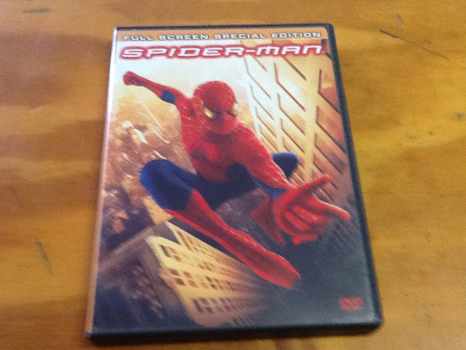 SPIDER-MAN FULL SCREEN SPECIAL EDITION DVD