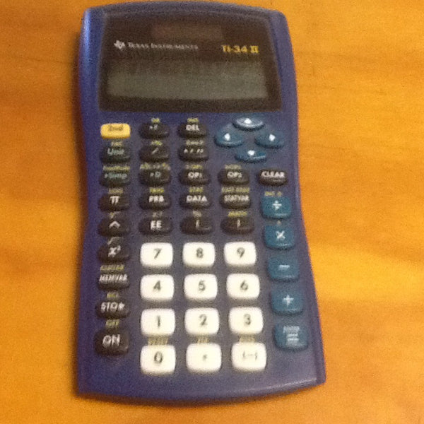 TI-34 II calculator