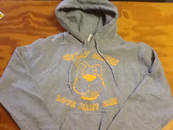 Sweatshirt - Hoodie - Great Danes Love Mary Jane