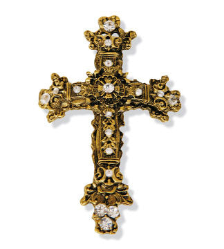 Pillar Pins - Antique Cross(Case of 6)