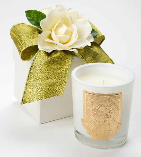 Spring - Cape Jasmine Candle - 14oz. flower box candle (Case of 6)