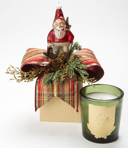 Aspen Holiday 14oz Christmas Gift Box Candle (case of 6)
