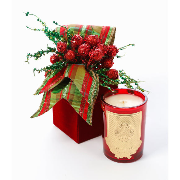 Holiday 8oz Christmas Gift Box Candle (case of 6)