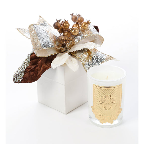 Frankincense and Myrrh 8oz Christmas Gift Box Candle (case of 6)