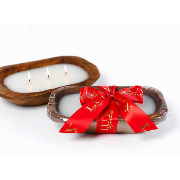 Noel 3 wick Dough Bowl Candle (case of 4)