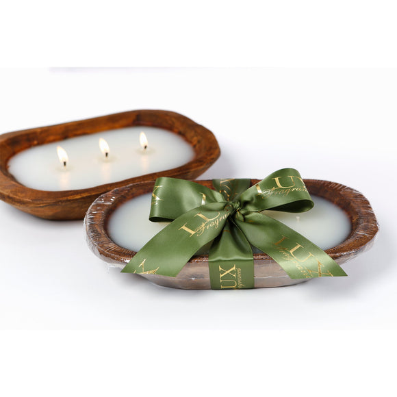 Noble Fir 3 wick Dough Bowl Candle (case of 4)
