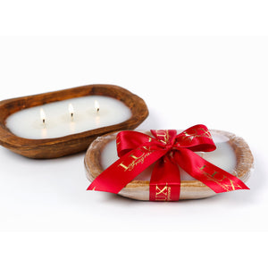 Aspen Holiday 3 wick Dough Bowl Candle (case of 4)