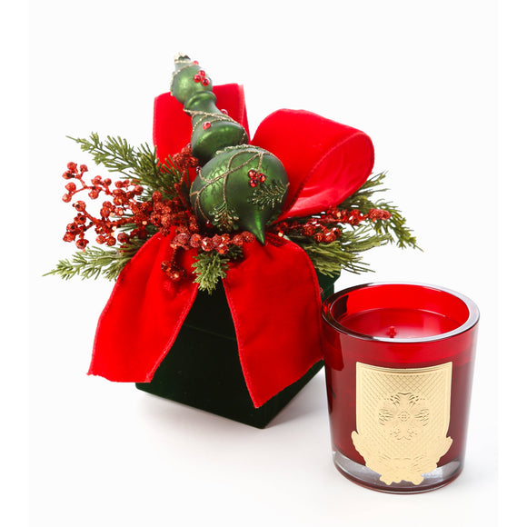 Noel 14oz Christmas Gift Box Candle (case of 6)