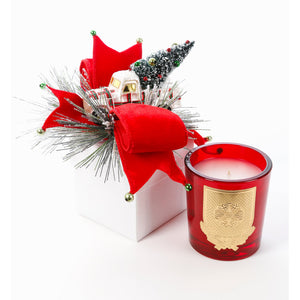 Home for the Holidays 14oz Christmas Gift Box Candle (case of 6)