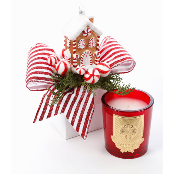 Fresh Gingerbread 14oz Christmas Gift Box Candle (case of 6)
