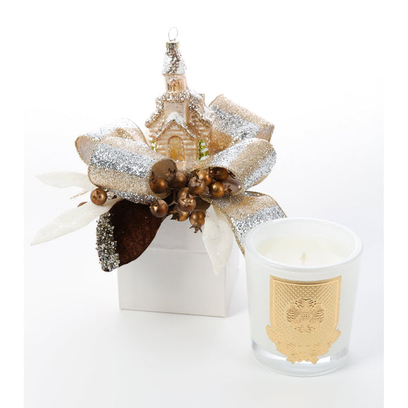 Frankincense and Myrrh 14oz Christmas Gift Box Candle (case of 6)