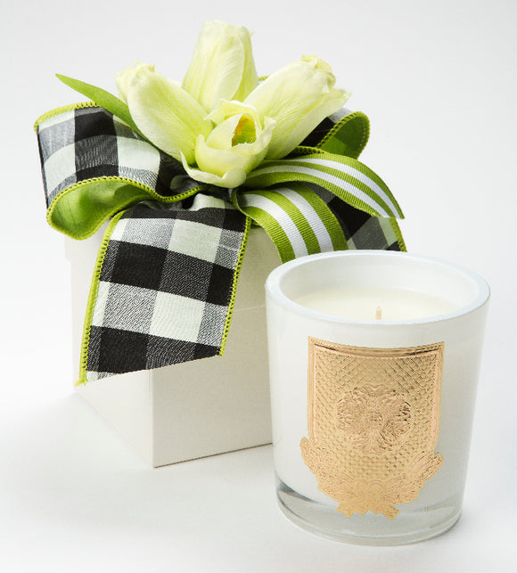 Spring - Lime Blossom - 14oz. flower box candle (case of 6)