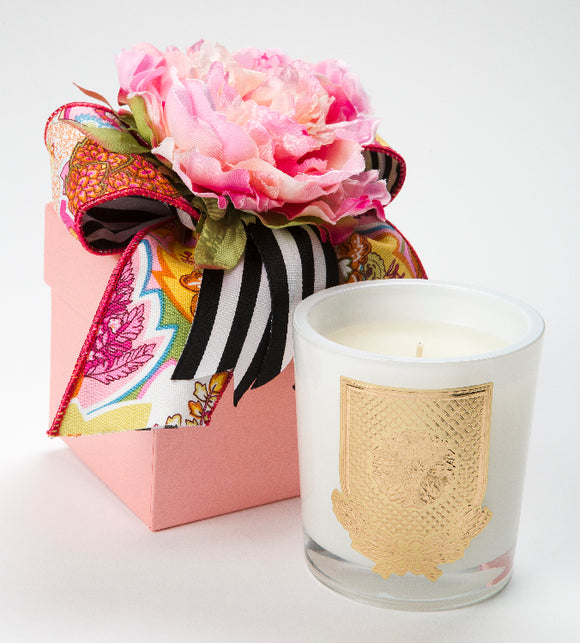 Spring - Lover's Lane Candle - 14oz. flower box candle (Case of 6)