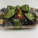 Noble Fir Scented Pine Cones in Dough Bowl (case of 4)