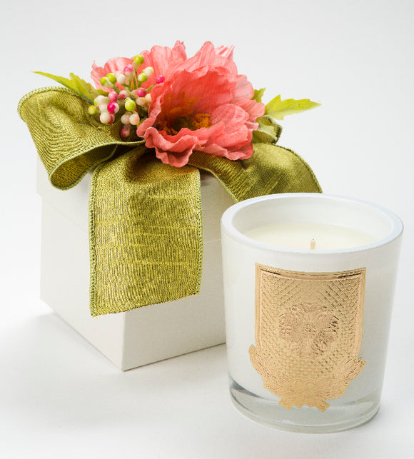 Spring - Grapefruit - 14oz. flower box candle (case of 6)