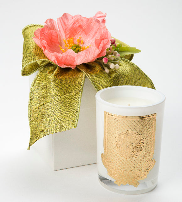 Spring - Grapefruit - 08oz. flower box candle (case of 6)
