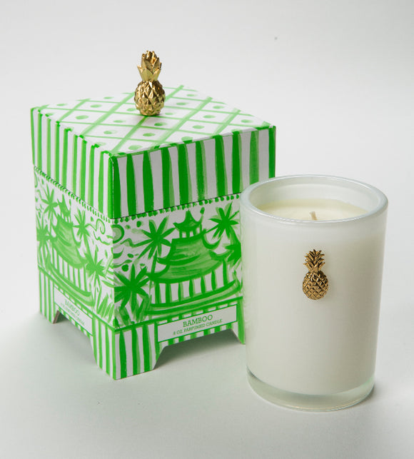 Bamboo Boxed 08oz. Candle